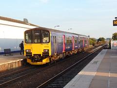150120 Exeter St Thomas (3) (Marky7890) Tags: gwr 150120 class150 sprinter dmu 2t24 exeterstthomas railway train
