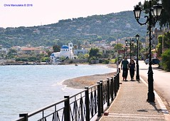 Together forever   DSC_2855 (Chris Maroulakis) Tags: salamina island greece seafront couple together church road nikon d7000 chris maroulakis 2016 selinia