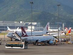 New and Old (KA/HDA) (Mark Obusan) Tags: dragonair ka hda airbus a330 a320 bhso bhll cx780 cathaypacific n1 hkia hkg vhhh juanda surabaya runway 07l crash hongkong cathaydragon