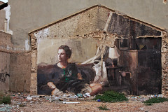 Los Alcazares murals (RagbagPhotography) Tags: wall art carton mural picture drawing painting gable end building color colourful los alcazares murcia spain