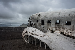 In the distance (terrencechuapengqui) Tags: iceland dakota navy airplane wreckage landscape slheimasandur