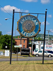 American Legion, Amsterdam, NY (Robby Virus) Tags: amsterdam newyork upstate state neon american legion sign signage fraternal organization