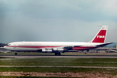 N18712 Boeing 707-331B TWA Trans World Airlines (pslg05896) Tags: n18712 boeing707 twa transworldairlines lgw egkk london gatwick