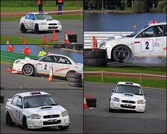 car 2 (ladythorpe2) Tags: harold palin memorial rally 2016 organised by eastwood district motor club mallory park 2 dave welch steve mcnulty subaru impreza all locked up