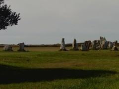 Menhirs cherchant de l'ombre...Standing stones looking for shade...Deux photos aujourd'hui..Two pictures today... (alainpere407) Tags: alainpere camaret penarbed bretagne breizh brittany finistre menhir standingstone flicktravelaward saariysqualitypicturesgallery