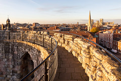 Clifford's Tower (matrobinsonphoto) Tags: cliffords tower york yorkshire north minster uk british town city church cathedral skyline cityscape landscape sunset golden hour sunlight sun light winter walls wall ancient historic castle keep spire