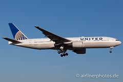 N224UA (Airlinerphotos.de) Tags: fra b777200 unitedairlines