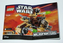 75129 1 lego star wars microfighters series 3 wookie gunship set 2016 h instruction booklet manual (tjparkside) Tags: 75129 1 lego star wars 2016 sw microfighters series 3 iii three wookie gunship kashyyyk ep episode 2 ii two attack clones revenge sith clone tcw aotc rots rebels missile missiles firing front guns back flap wing wings engine engines crossbow bowcaster weapon blaster disney set