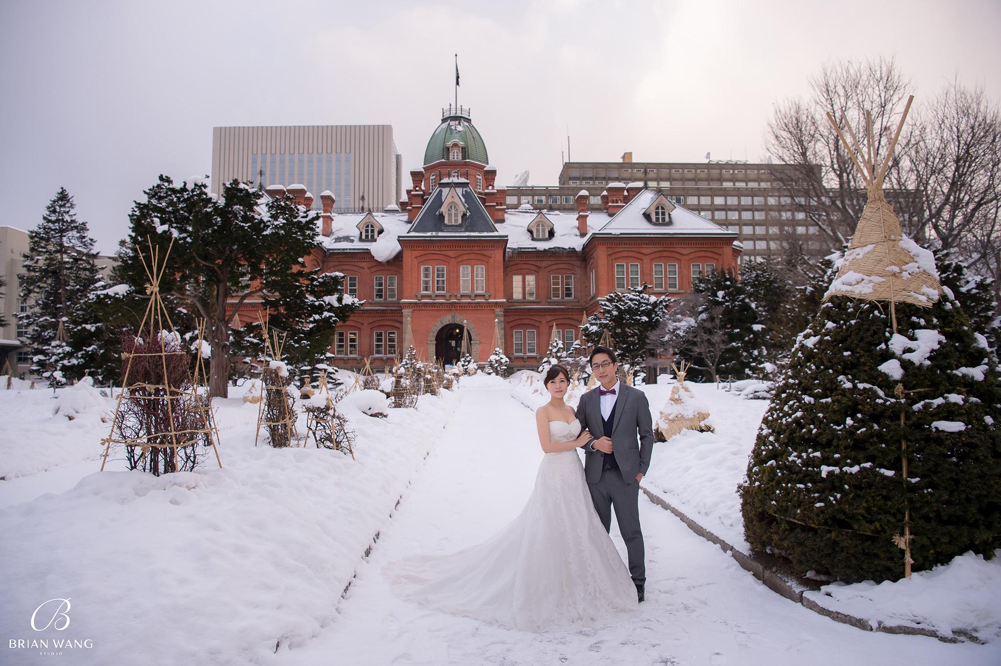 '北海道自助婚紗,北海道婚紗攝影,北海道雪景婚紗,海外婚紗價格,雪景婚紗,拍和服,北海道海外婚紗費用,伏見稻荷,札幌,2048BWS_6389'