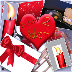 Advent-zwei (Josef17) Tags: advent herz symbol collage