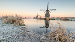 Early mornings in Kinderdijk (wimzilver) Tags: kinderdijk leefilter alblasserdam wimzilver koud wimboon cold canonef1635mmf4lisusm canoneos5dmarkiii