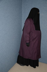 Fat Belly (Buses,Trains and Fetish) Tags: slave warm hot girl niqab hijab burka chador torture anorak coat fleece sweat belly fat