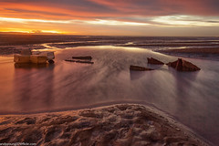 Meols Beach Sunset (14 of 14) (andyyoung37) Tags: meolsbeech merseyestuary beach boatwreck greatsky sunset thewirral meols england unitedkingdom gb