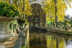 Medici Fountain 315 of 365 (3) (bleedenm) Tags: 2016 europe evening fall october paris urban france