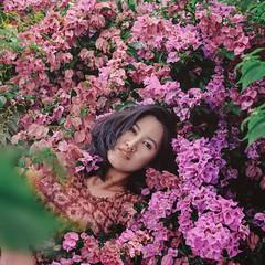 122/365 Stillness (itskatrinayu) Tags: flowers self portrait 365 project outdoor garden