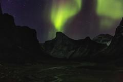 The Electric Light Orchestra (Andrew G Robertson) Tags: nunavut aurora borealis northern lights canada thor windy lake auyuittuqnationalpark auyuittuq baffin island