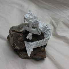 IOIO 2016 - Merlion 2 (Tankoda) Tags: septarian nodule ioio 2016 merlion andrey ermakov kraft 45 cm 20 hrs scales 400 origami 30