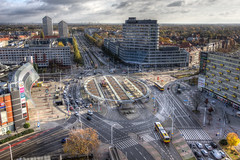 Plac Grunwaldzki - Wrocaw Poland (PaulDNL) Tags: plac grunwaldzki square wrocaw poland