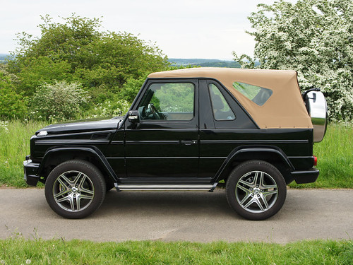 Mercedes G-Modell / Puch G W463 Cabrio 1997 and on