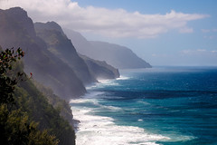 0657 (capturedbyflo) Tags: fujifilm fuji hawaii kauai usa island landscape waterscape kalalau trail