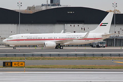 A6-HEH   Boeing 737-8AJ/W (BBJ2)   Dubai Air Wing / Royal Flight (cv880m) Tags: newyork kennedy jfk kjfk a6heh boeing 737 738 737800 7378aj winglet bbj bbj2 boeingbusinessjet uae unitedarabemirates dubaiairwing royalflight dubai bizjet