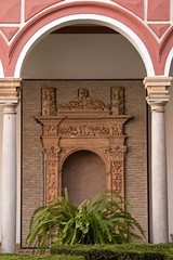 Museo de Bellas Artes (6) ({House} Photography) Tags: spain seville sevilla andalusia europe hot winter canon 70d 24105 f4 housephotography timothyhouse travel photography museo de bellas artes fine arts museum architecture interior courtyard arch