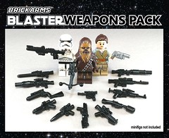 Blaster Weapons Pack - A BrickArms Story (BrickArms) Tags: brickarms blasters blasterpack