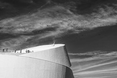 Porto - Portugal (Francisco (PortoPortugal)) Tags: 2352016 20160917fpbo3797 2 pb bw terminaldecruzeiros cruiseterminal leixões porto portografiaassociaçãofotográficadoporto franciscooliveira