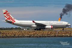 VH-XFD VA A332 34L YSSY-5333 (A u s s i e P o m m) Tags: mascot newsouthwales australia au virginaustralia virgin velocity va airbus a332