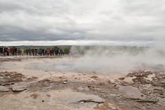 Strokkur (EC@PhotoAlbum) Tags: iceland islanda goldencircle goldencircleiceland cerchiodoro strokkur geyser geysir nature paesaggio landscape