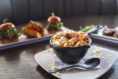 Mac n Cheese (trevorpopovits) Tags: mac cheese food appetizer appetizers breakfast lunch dinner restaurant dairy noodles spoon fork plate venue dish yummy delicious eat