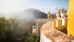 Mrchenschloss/ fairy tale (johannesotte84) Tags: sintra morning castle mist mystic fairy tale mrchen schloss portugal otte canon 6d eos
