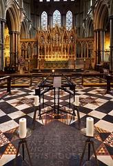 PB0424522 (simonrwilkinson) Tags: elycathedral ely cambridgeshire georgegilbertscott reredos presbytery st ethelreda shrine