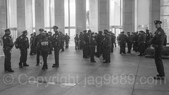 NYPD Police Officers, 767 Fifth Avenue - General Motors Building, Midtown Manhattan, New York City (jag9889) Tags: 20161201 jag9889 usa blackandwhite manhattan midtown policeofficer newyorkcity newyork outdoor 2016 nypd 767fifthavenue bw cop finest firstresponder lawenforcement monochrome ny nyc newyorkcitypolicedepartment officer police policedepartment unitedstates unitedstatesofamerica us