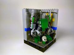 M.K.008 Redux - Mark II (Jay Biquadrate) Tags: mf0 mfz microscale moc mobileframezero mech mecha lego diorama