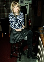 Typical Monday (Amber :-)) Tags: charcoal sunray mini skirt tgirl transvestite crossdressing