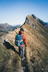 Near the Peak (Electric Fog) Tags: mountains mountain mount switzerland swiss alpes landscape outdoor trekking walk walking nature beauty colorful scenic peak peaceful climbing sport