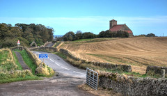 The road to St Abbs, Berwickshire, Scotland (Explored) (Baz Richardson (catching up again!)) Tags: stabbs scotland berwickshire landscapes farmland explored