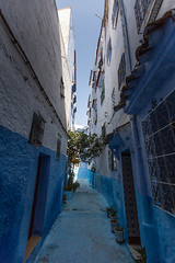Streets, Chefchaouen, Morocco (virt_) Tags: 2016 summer europe trip travel travels vacation family kids chefchaouen tangerttouan morocco