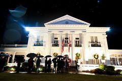 12-05-16 Governor's Mansion Christmas Tour featuring Trinity Presbyterian School Choir