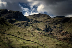 Mountain Crags (KRLandscapes) Tags: uk lake mountains nikon district pass fells patterdale ullswater glenridding kirkstone 55300 d5100