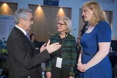 Carlos Almada Lopez, Susan Kurland and Lisa Raitt