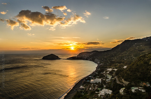tramonto ai maronti - Isola d' Ischia - Italy
