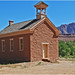 School & Church, Grafton Ghost Town 4-30-14j