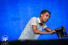 Stromae (RobertoFinizio) Tags: music house netherlands festival concert stage singer electronic songwriter newbeat pinkpopfestival megaland stromae robertofinizio landraaf pinkpop2014