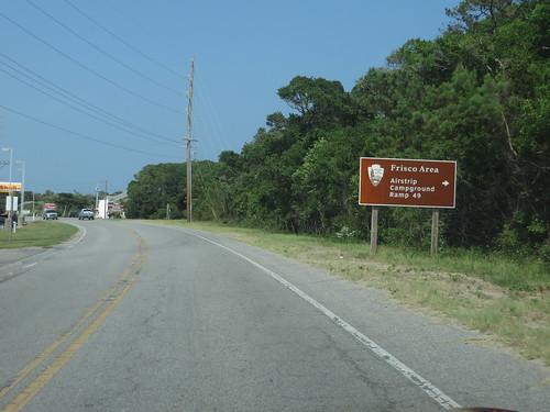 Frisco Airstrip, Cape Hatteras National Seashore, Outer Banks Between Hatteras and Frisco, North Carolina