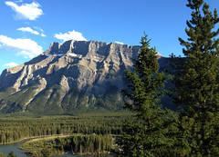 mount rundle at its best (sus o lala) Tags: canada mountains tree rockies alberta banff rockymountains mountrundle bowvalley