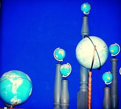 Globes (KiwiCharlotte - Insta charli_nz) Tags: world museum globe earth collection charlottenz