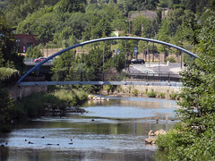River Don (Dave_Johnson) Tags: bridge river sheffield southyorkshire riverdon kelhamisland