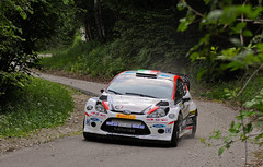 DSC_2160 (francescof.987) Tags: ford tarmac fiesta rally wrc pirelli astyle montetomba rallydellamarca ciwrc rossettomotors rallydellamarca2014